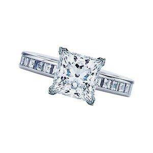1.76Ct Diamond Princess Cut Anniversary Ring